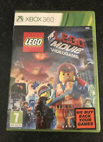 XBOX 360 GAME - LEGO THE LEGO MOVIE - NICE CONDITION WITH MANUAL 7+ FREEPOST