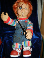 ANIMATED LIFESIZE TALKING CHUCKY DOLL - CHILDS PLAY DEMONIC HALLOWEEN PROP LooK