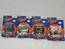 Lot of 4 Nascar autographed hood 1/64 Winners Circle action cars