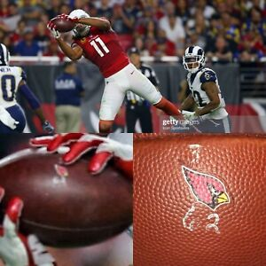 LARRY FITZGERALD Game Used TD Catch Cardinals Football