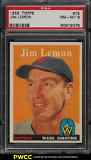 1958 Topps Jim Lemon #15 PSA 8 NM-MT (PWCC)