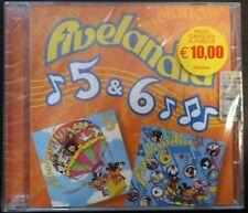 Cristina D'Avena – Fivelandia 5 & 6 2XCD 2006 Still Sealed Sigillati Nuovi