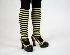 Bienchenstulpen - schwarz/gelbe-Stulpen - Fanartikel