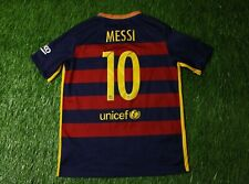BARCELONA # 10 MESSI 2015/2016 FOOTBALL SHIRT JERSEY HOME NIKE ORIGINAL YOUNG XL