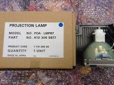 SANYO POA-LMP67 Projector Lamp for PLC-XP50,XP50L,XP55,XP55L, CHRISTIE LX45,LX37