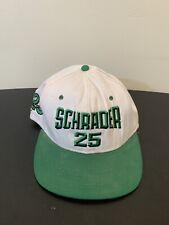 VINTAGE 90s NASCAR KENNY SCHRADER 25 SKOAL RACING USA MADE SNAPBACK HAT CAP