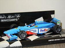 Benetton Playlife 1998 F1 Launch Version A.Wurz van Minichamps 1:43 in OVP *4016