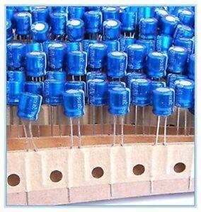 Electrolytic Capacitors 220uF 6.3V Rubycon - UK Seller