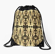 DRAWSTRING BACKPACK SHOULDER BAG w/Exclusive Solar Etched Design ~ 'Dreamer'