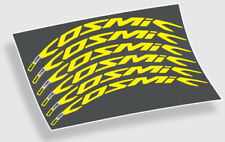 Mavic Cosmic Pro Carbon decals stickers for 700c 38mm 45mm 50mm 52mm road wheels
