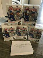 2020 Single Bowman Baseball Factory Sealed Blaster Box topps Brand New!!