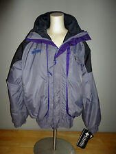 COLUMBIA Purple/Gray/Black POWDER KEG PARKA Winter Coat Jacket - Adult Med *NEW*