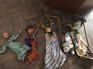 Vintage Puppets (in Need Of Restoring)