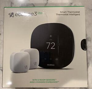 Ecobee3 lite Pro Smart Thermostat - Factory Sealed. Black