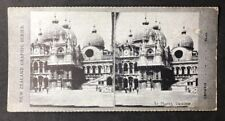 Stereo-View Stereoscopic Photo: New Zealand Graphic #A36: St Marks Venice