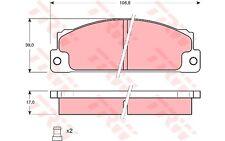 TRW Juego de pastillas freno SEAT 131 RITMO 132 FIAT X 1/9 127 CAMPAGNOLA GDB296