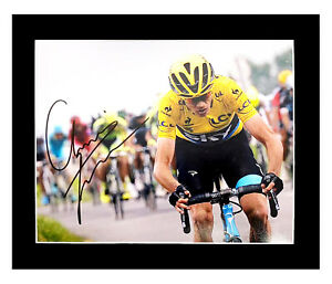 Signed Chris Froome Photo Display - Tour de France Icon +COA