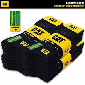 CAT® CATERPILLAR BUSINESS SOCKEN Feine Herrensocken ohne Gummi Strümpfe 35-50