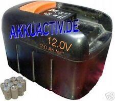 Akkupack 12V 3600 mAh Ni-MH passend für Fein 92604071023 ; 92604068028