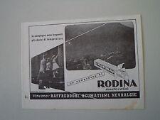 advertising Pubblicità 1937 RODINA MONTECATINI
