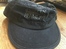 Vintage Justin Timberlake Sexy Back Club Tour Black Hat New/Unworn