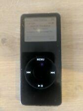 Apple iPod nano 1st Generation Black (2GB) read description