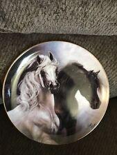 Danbury Mint Susie Morton Noble and Free Set Free Horse Ltd Ed Plate