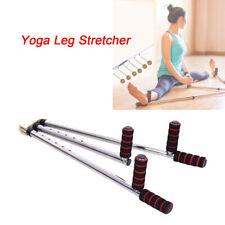 Stainless Steel Yoga Leg Stretcher Splitter Flexibility 3 Bar Stretch Equipment