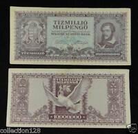 Hungary Banknote 10000000 Pengo 1946