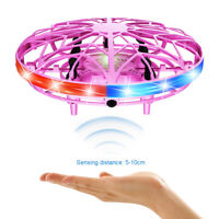 LED Induction Suspension Mini Flying UFO Ball RC Aircraft Drone Helicopter Toys