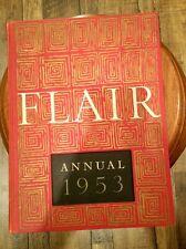 FLAIR ANNUAL 1953 HARDCOVER - FLAIR MAGAZINE 1ST EDITION