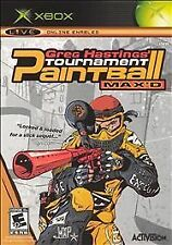 Greg Hastings' Tournament Paintball Max'd (Microsoft Xbox, 2005)-Complete