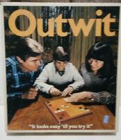 Vintage 1978 Parker Brothers OUTWIT board game--Complete in original box!