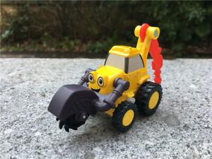 Bob the Builder Scoop Metal Diecast Toy Car No Magnetic New No Box