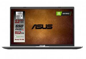 Asus Vivobook,Intel i5 10TH SSD M2 da 512 Gb Ram 12GB Scheda video Nvidia Mx130