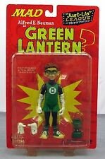 "DC Direct MAD Magazine Alfred Neuman Green Lantern Just Us League 6"" Figure NIB"