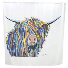 Croydex AF304022H Angus McCoo Art by Steven Brown Shower Curtain 1800 x 1800mm
