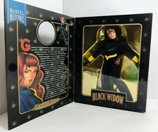 """Marvel Famous Cover Series Black Widow Ultra Poseable 8"""" Figure 1998"""