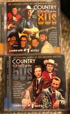 Country Top Hits of The 80's & 50's Preowned CD