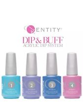 Entity DIp & Buff Acrylic Dip System 4 Steps PREP, TOP , BASE , ACTIVATOR