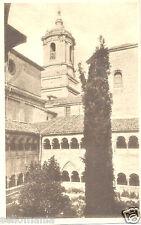 ANTIGUA POSTAL HAUSER Y MENET MONASTERIO SILOS BURGOS CLAUSTRO Y TORRE   CC00491