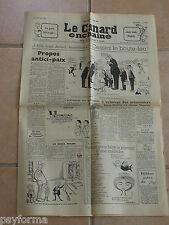 Le Canard Enchainé N° 2157 du 21 fevrier 1962 - Journal anniversaire 21 02 62