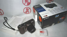 Sony Cyber-shot dsc-hx20v hx20v GPS Full HD 20x Optical 1080/50p 3d O.I.S. OVP