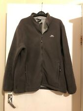 Mens Trespass Brown Fleeece Jacket Size S