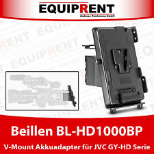 Beillen BL-HD100BP V-Mount V-Lock Akkuadapter für JVC GY-HD Camcorder (EQ971)