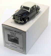 Crossway Models 1/43 Scale CMM06 - Rover 75 Saloon - Black Ivory 1 Of 25