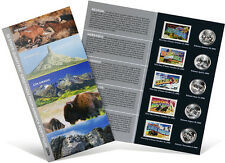 USPS State Quarters and Stamps Portfolio (NV, NE, CO, ND, SD)