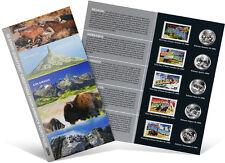 USPS State Quarters and Stamps Portfolio (NV, NE, CO, ND, SD)