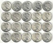 1 Roll__1923-P Peace Silver Dollars__BU/UNC__#1418KD13