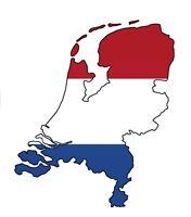 """Auto Aufkleber Niederlande """"Nederland"""" Decal Sticker Holland 11cm (4.3"""") konturg"""